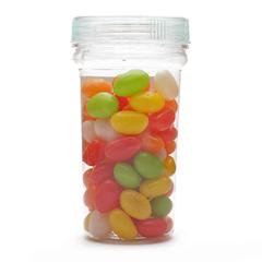Kẹo đậu đỏ bao đường Trung Thư hộp 100g