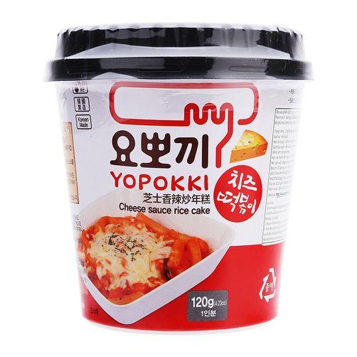Bánh gạo Topokki  vị phomai 120g