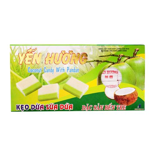 Kẹo Dừa Sữa Dứa 400g – Yến Hương