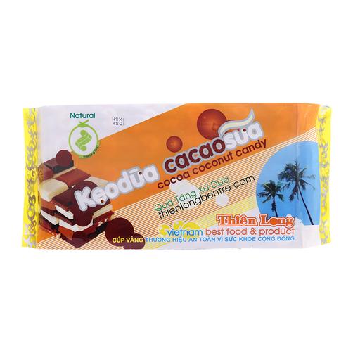 Kẹo Dừa Ca Cao sữa 400g – Thiên Long