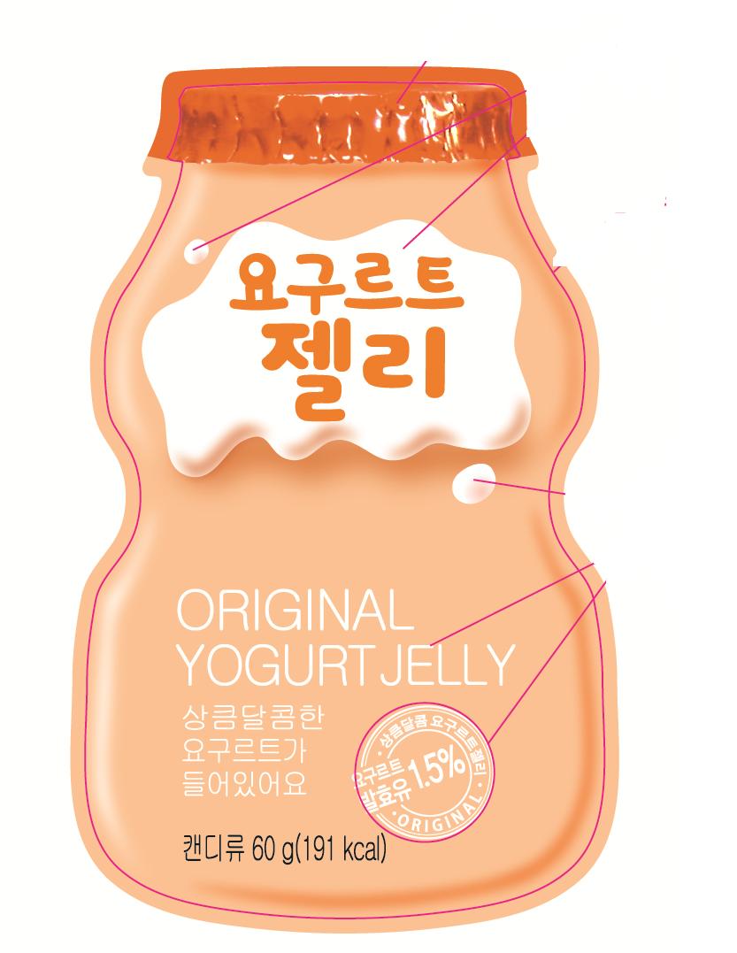 Thạch Yogurt Jelly Vị Truyền Thống