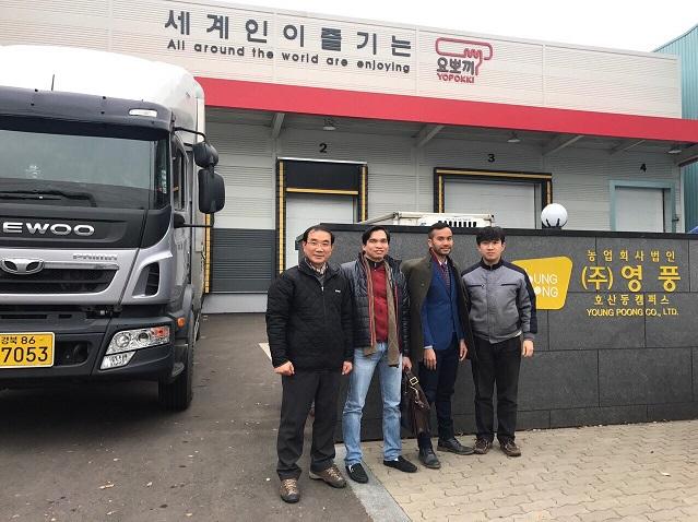 PHUCTHINHFOOD thăm và làm việc với đối tác chiến lược YOUNGPOONG tại Deagu, Korea