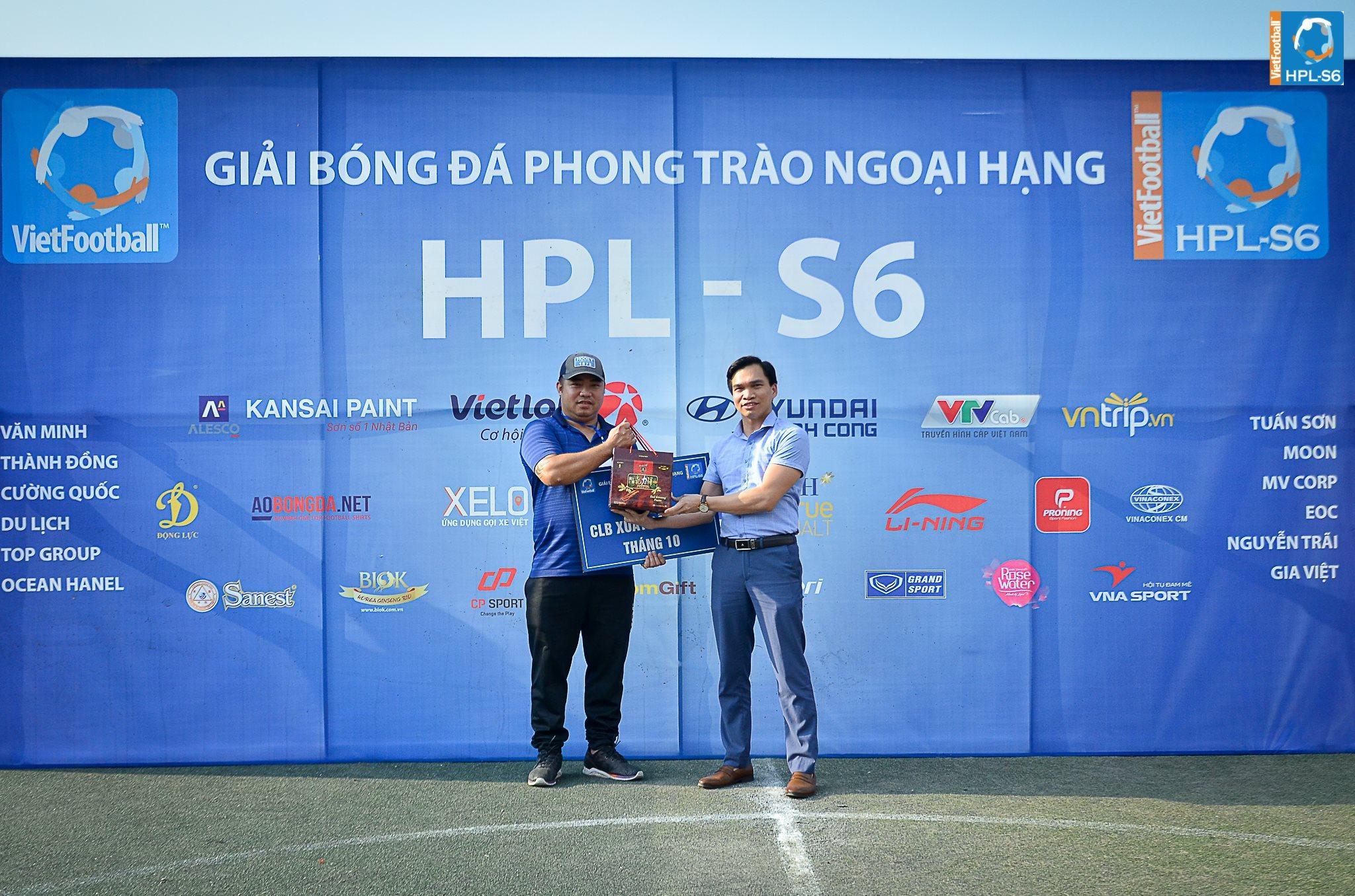 Phúc Thịnh vinh dự là 1 trong những nhà tài trợ chính cho Giải bóng đá phong trào ngoại hạng HPL – S6