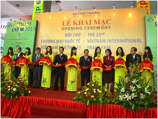 CÔNG TY CỔ PHẦN PHÚC THỊNH THAM GIA HỘI CHỢ XÚC TIẾN THƯƠNG MẠI QUỐC TẾ EXPO 2013   18/04/2017