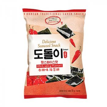 Snack rong biển vị siêu cay – Seaweed Snack Hot Spicy Flavor