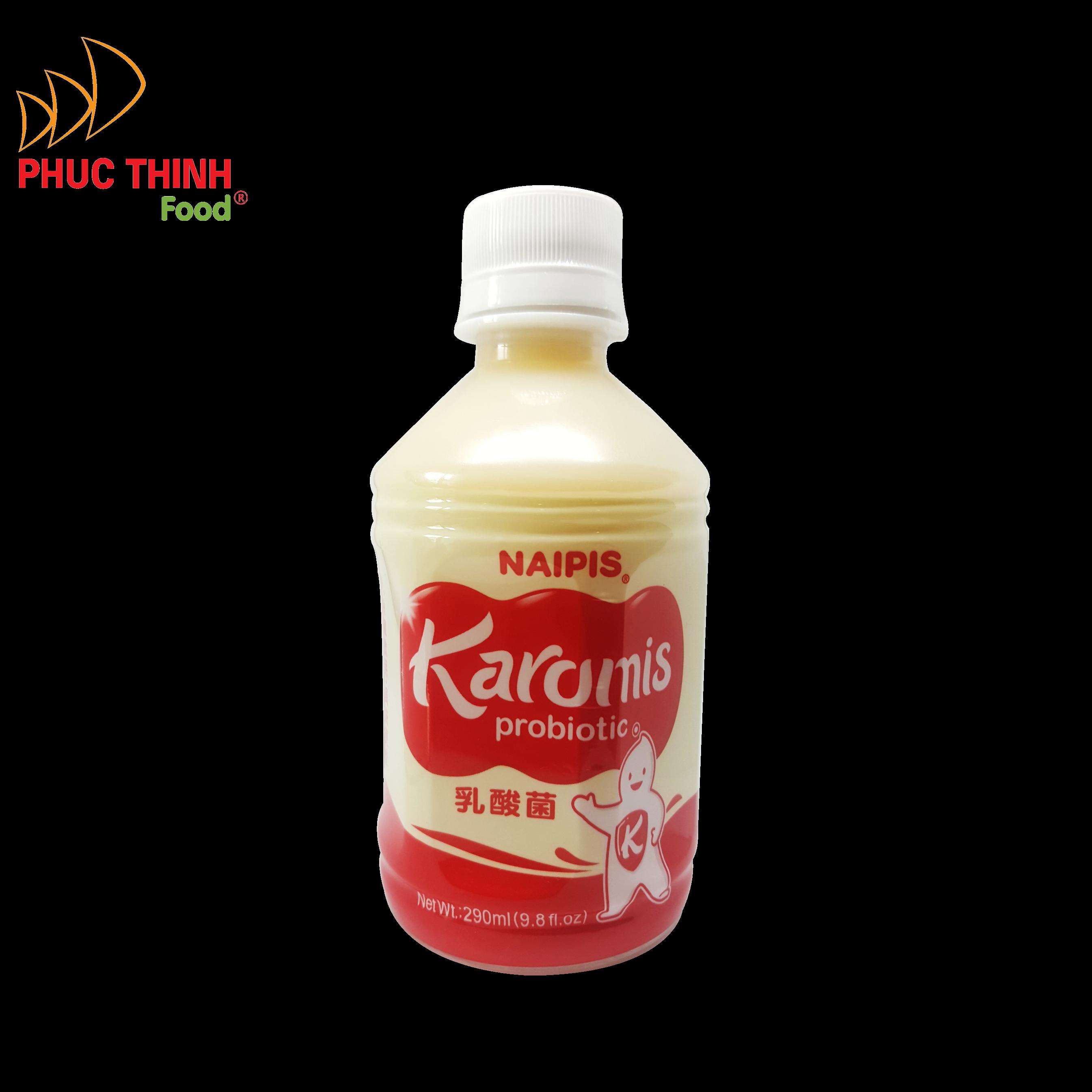 Sữa chua uống  NAIPIS KAROMIS - lợi khuẩn Probiotic