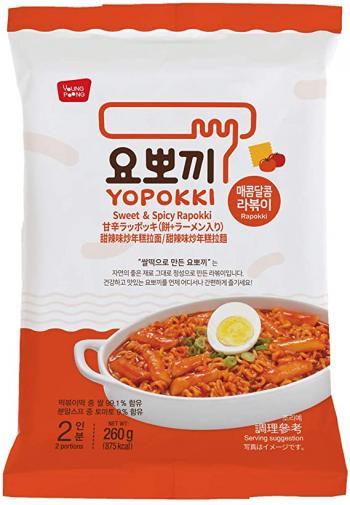Bánh gạo Rapokki vị cay ngọt – Sweet and Spicy Rapokki 260g