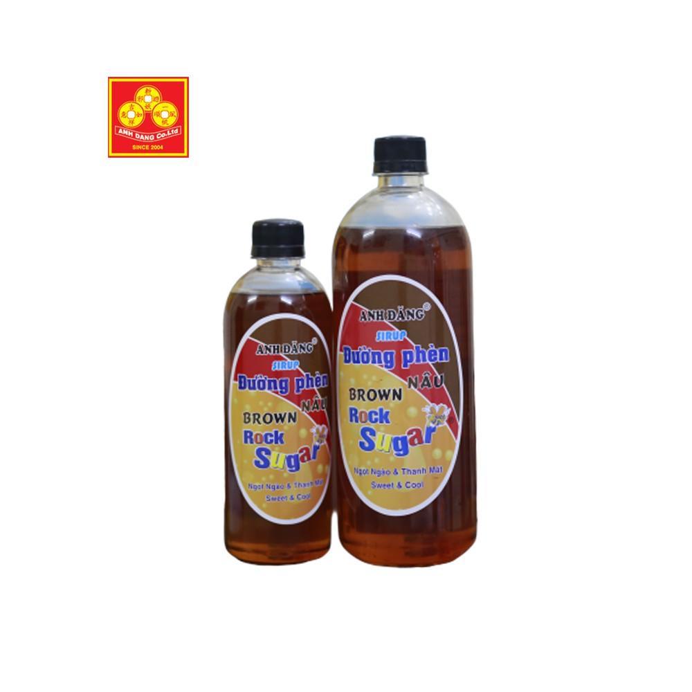 Sirup đường phèn nâu và đen 500ml
