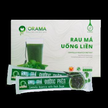 Bột rau má uống liền có đường Quảng Thanh - Hộp 15 gói *3g