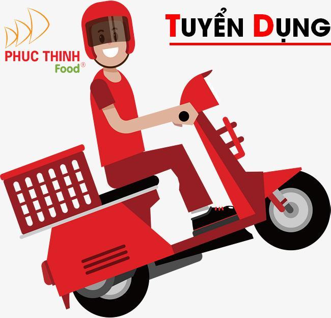 Công ty phúc thịnh tuyển dụng 02 nhân viên giao hàng bằng xe máy