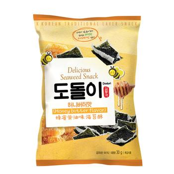 Snack rong biển vị bơ mật ong – Seaweed Snack Honey Butter Flavor