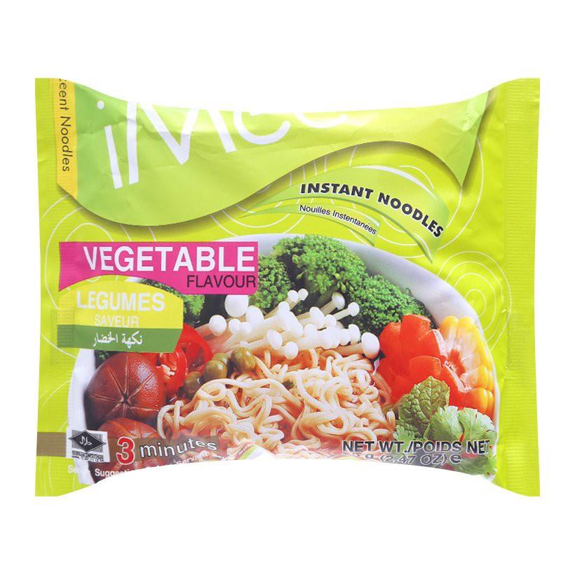 Mì gói iMee chay 70g  - iMee Instant Packet Noodle Vegetable flavour