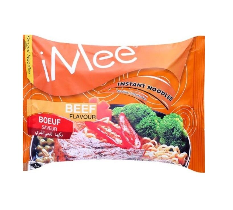 Mì gói iMee bò 70g - iMee Instant Packet Noodle Beef flavour