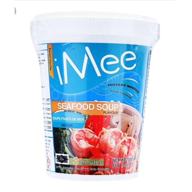 Mì ly iMee hải sản 65g - iMee Instant Packet Noodle Shrimp flavour